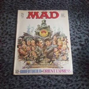 1975 MAD Magazine/ GODFATHER 2 ORIENT EXPRESS